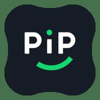 PiP Logo Black