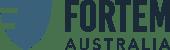 Fortem Australia logo inline colour
